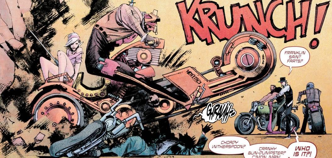 Tokyo Ghost : Akira, Mad Max et The Running Man dans un seul comics