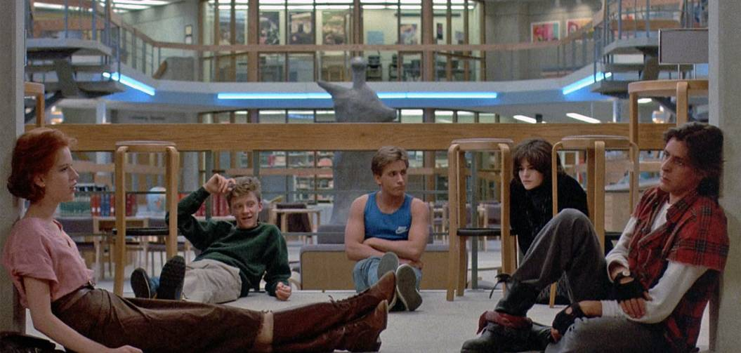 Sur le tournage de Breakfast Club, le plus grand des teen movies