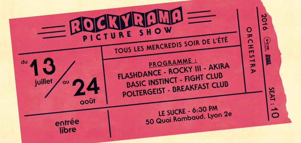 Rockyrama Picture Show : un film tous les mercredis de l'été au Sucre