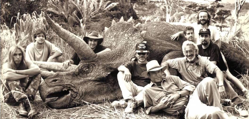 Retour en images sur le tournage de Jurassic Park