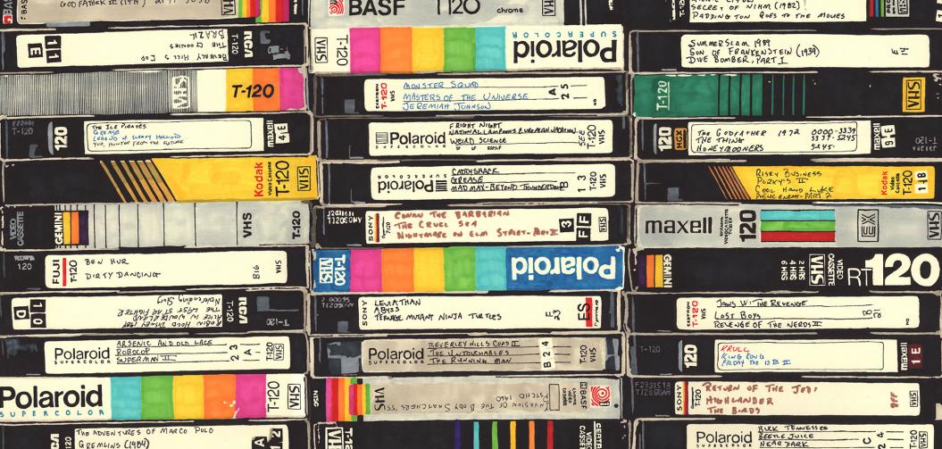 Le magnétoscope est mort, vive la VHS !