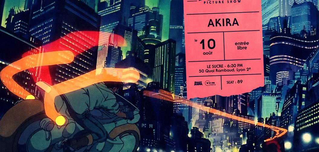 Rockyrama Picture Show : Akira mercredi 10 août au Sucre