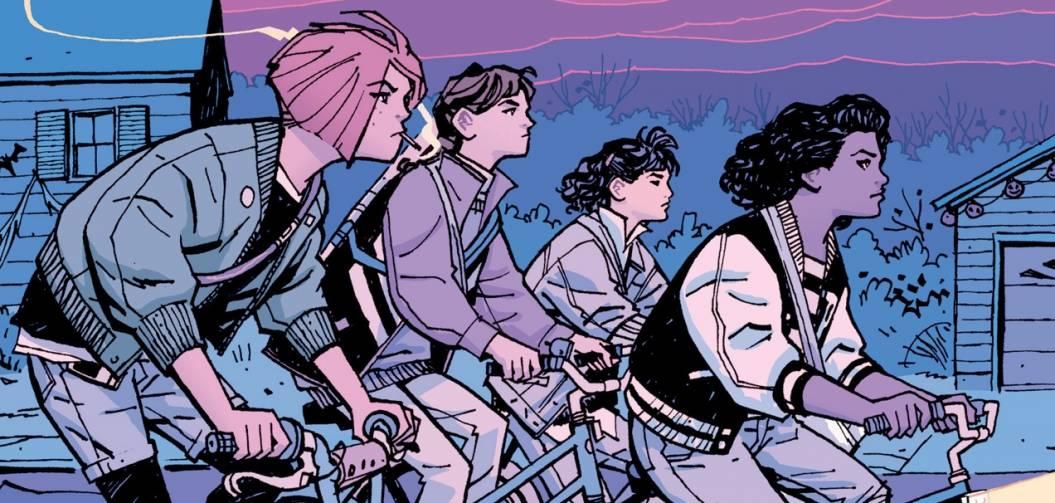 Paper Girls, la nouvelle série 80's du génial créateur de Saga