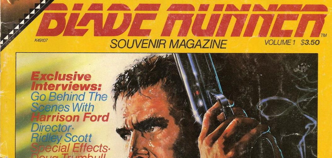 À la découverte du Blade Runner Souvenir Magazine