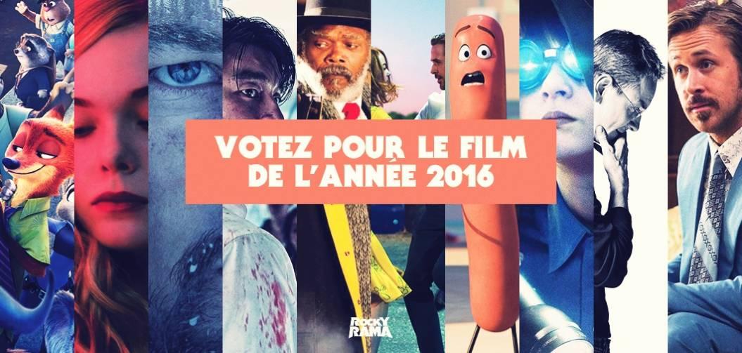 Quel a été votre film préféré de l'année 2016 ?