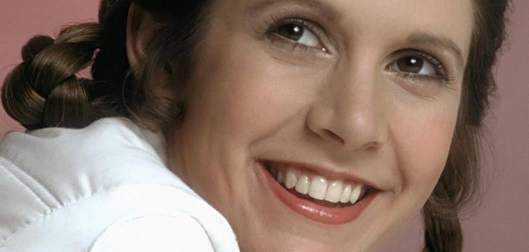 Carrie Fisher est partie et un peu de notre enfance aussi