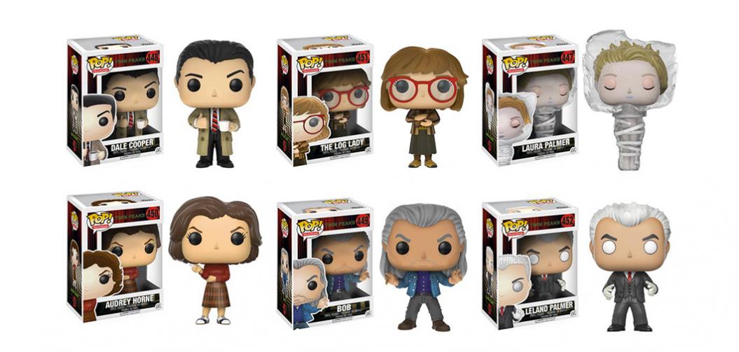 Des figurines Funko tirées de la série Twin Peaks seront bientôt disponibles