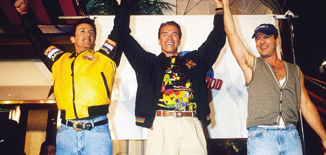 Stallone vs. Schwarzenegger : Traque au sommet