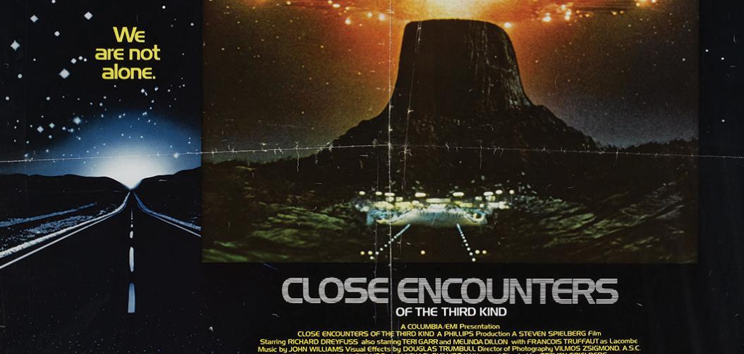 Il y a 40 ans Steven Spielberg s'apprêtait à sortir son 4ème film : Rencontres du 3eme type