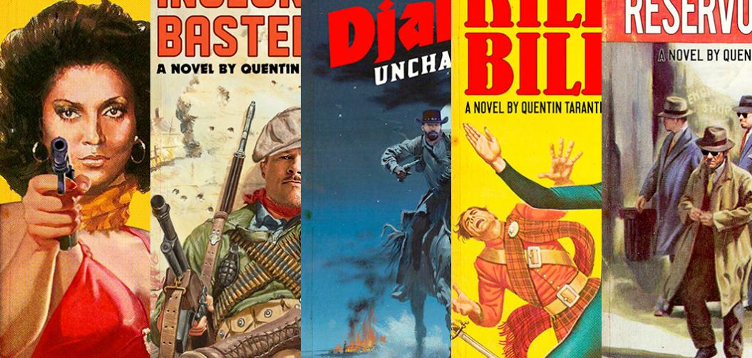Les films de Tarantino transformés en Pulp magazine