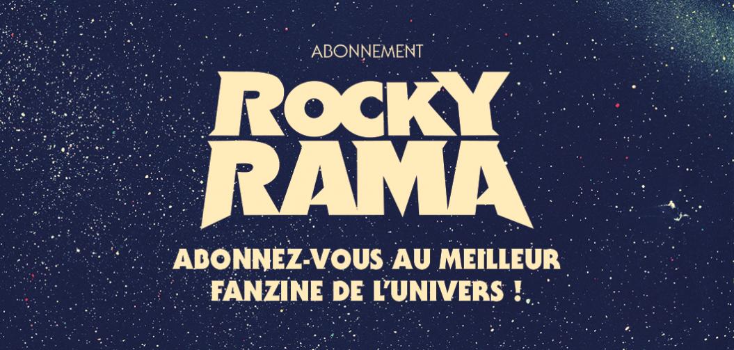 Abonnez-vous à Rockyrama !