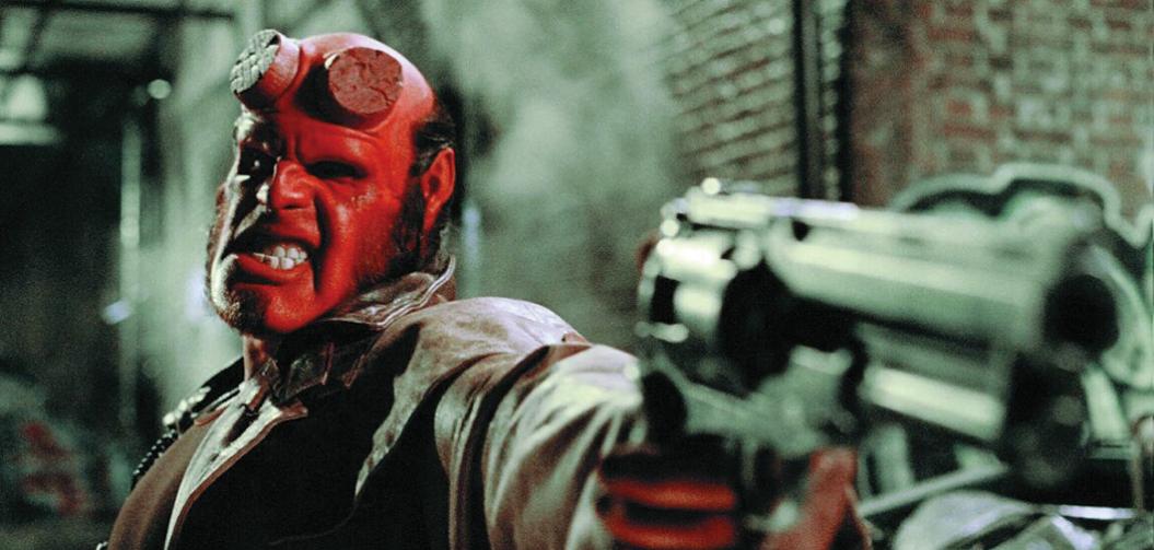 Hellboy, le célèbre monstre rouge Guillermo del Toro