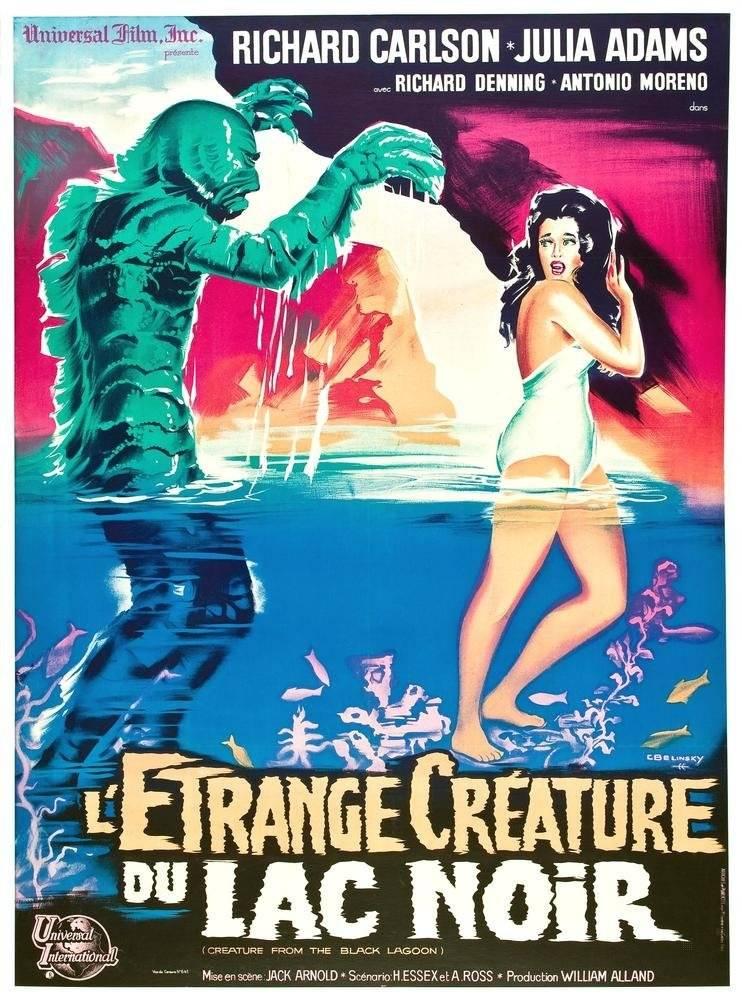 pop-poster-letrange-creature-du-lac-noir